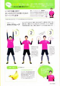 ダイエットやトレーニングについての雑誌の監修1
