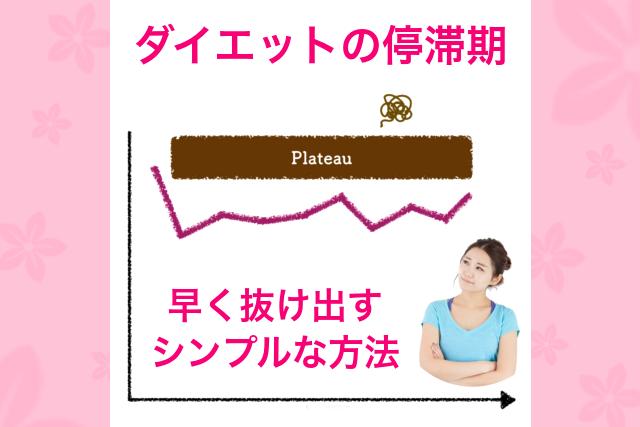 【お客様の声】ダイエットの停滞期を抜け出すシンプルな方法