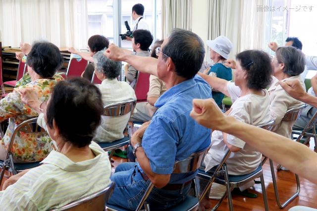 ご高齢者運動指導(東京都杉並区役所)
